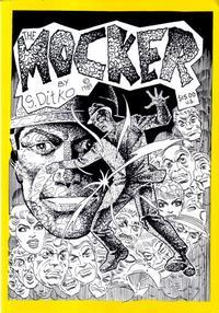 Cover Thumbnail for The Mocker (Robin Snyder and Steve Ditko, 2000 series)