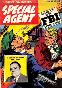 Cover Thumbnail for Special Agent (Parents' Magazine Press, 1947 series) #1
