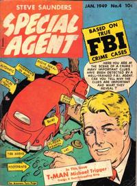 Cover Thumbnail for Special Agent (Parents' Magazine Press, 1947 series) #4