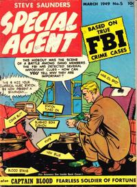 Cover Thumbnail for Special Agent (Parents' Magazine Press, 1947 series) #5