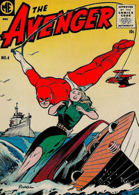 Cover Thumbnail for The Avenger (Magazine Enterprises, 1955 series) #4 [A-1 #138]
