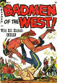 Cover Thumbnail for Badmen of the West (Magazine Enterprises, 1953 series) #2 [A-1 #120]