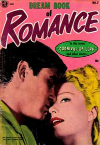 Cover Thumbnail for Dream Book of Romance (Magazine Enterprises, 1953 series) #7