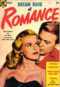 Cover Thumbnail for Dream Book of Romance (Magazine Enterprises, 1953 series) #8