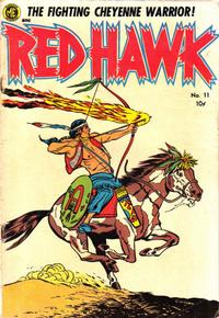 Cover Thumbnail for Red Hawk (Magazine Enterprises, 1953 series) #11