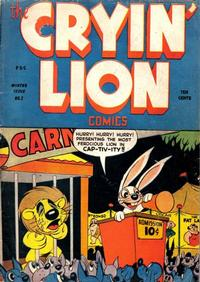 Cover Thumbnail for Cryin' Lion Comics (Wm. H. Wise & Co., 1944 series) #2