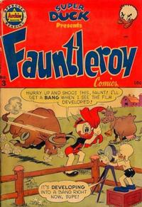 Cover Thumbnail for Fauntleroy Comics [Super Duck Presents] (Archie, 1950 series) #3