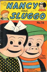 Cover Thumbnail for Nancy and Sluggo (United Feature, 1949 series) #16