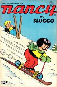 Cover Thumbnail for Nancy and Sluggo (United Feature, 1949 series) #21
