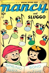 Cover Thumbnail for Nancy and Sluggo (United Feature, 1949 series) #23