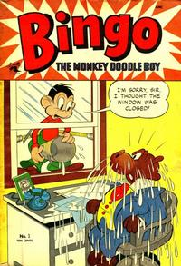 Cover Thumbnail for Bingo, the Monkey Doodle Boy (St. John, 1953 series) #1