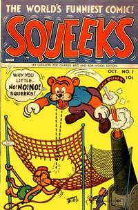 Cover Thumbnail for Squeeks (Lev Gleason, 1953 series) #1
