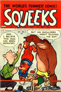 Cover Thumbnail for Squeeks (Lev Gleason, 1953 series) #2