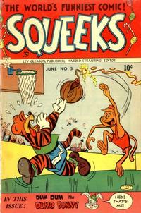 Cover Thumbnail for Squeeks (Lev Gleason, 1953 series) #5
