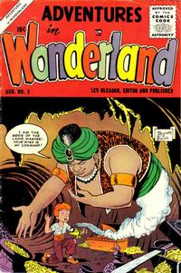 Cover Thumbnail for Adventures in Wonderland (Lev Gleason, 1955 series) #3