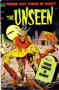 Cover Thumbnail for The Unseen (Pines, 1952 series) #9