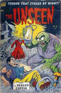 Cover Thumbnail for The Unseen (Pines, 1952 series) #11