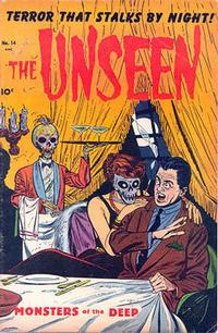 Cover Thumbnail for The Unseen (Pines, 1952 series) #14