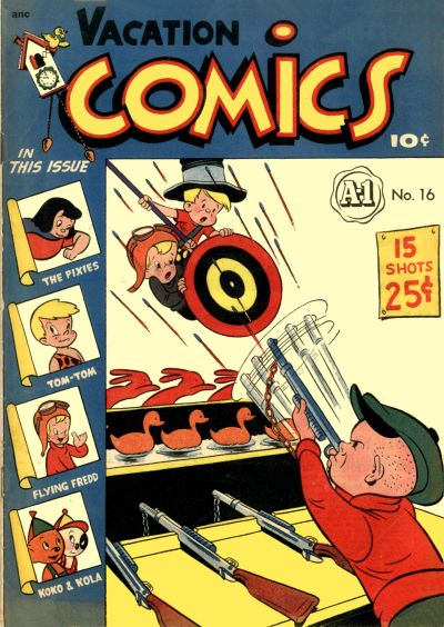 Cover for A-1 (Magazine Enterprises, 1945 series) #16
