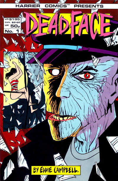 Cover for Deadface (Harrier, 1987 series) #1