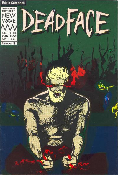 Cover for Deadface (Harrier, 1987 series) #8