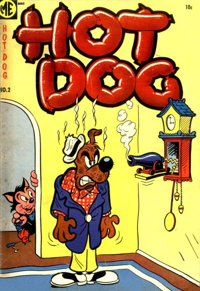 Cover for Hot Dog (Magazine Enterprises, 1954 series) #2 [A-1 #115]