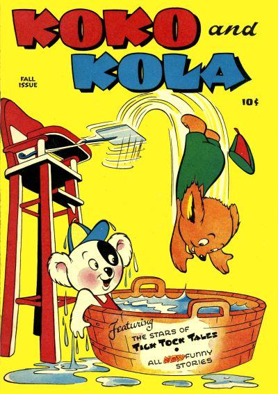 Cover for Koko and Kola (Magazine Enterprises, 1946 series) #1