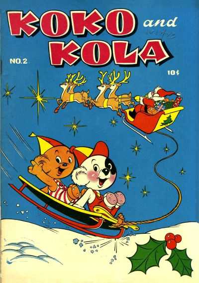 Cover for Koko and Kola (Magazine Enterprises, 1946 series) #2
