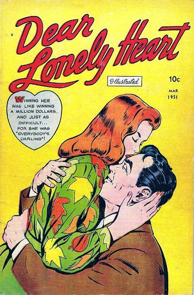 Cover for Dear Lonely Heart (Comic Media, 1951 series) #1