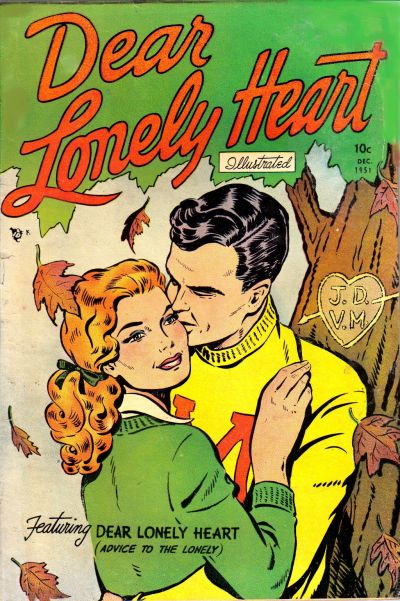 Cover for Dear Lonely Heart (Comic Media, 1951 series) #3