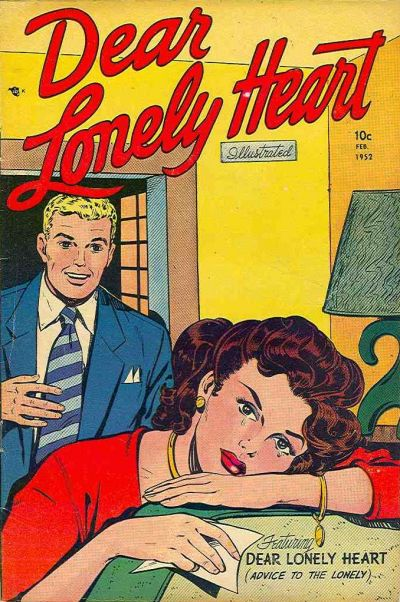 Cover for Dear Lonely Heart (Comic Media, 1951 series) #4