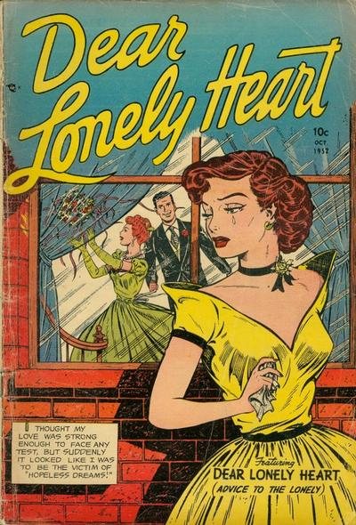 Cover for Dear Lonely Heart (Comic Media, 1951 series) #8