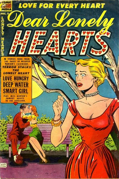 Cover for Dear Lonely Hearts (Comic Media, 1953 series) #3