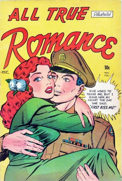 Cover for All True Romance (Comic Media, 1951 series) #2