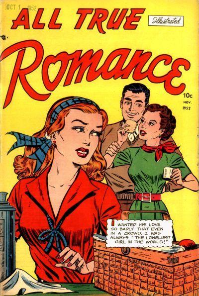 Cover for All True Romance (Comic Media, 1951 series) #7 [11/52]