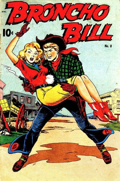Cover for Broncho Bill (Pines, 1947 series) #8