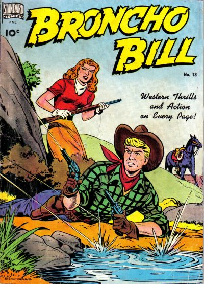 Cover for Broncho Bill (Pines, 1947 series) #13