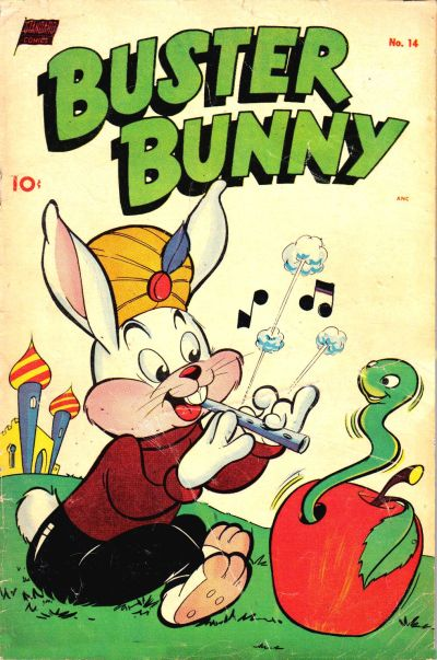 Cover for Buster Bunny (Pines, 1949 series) #14