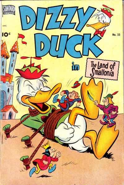 Cover for Dizzy Duck (Pines, 1950 series) #33