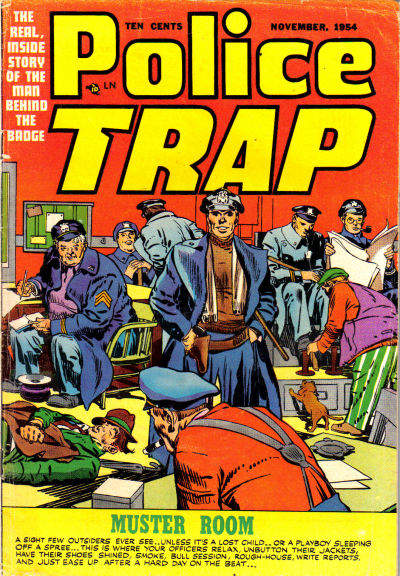 Cover for Police Trap (Mainline, 1954 series) #2