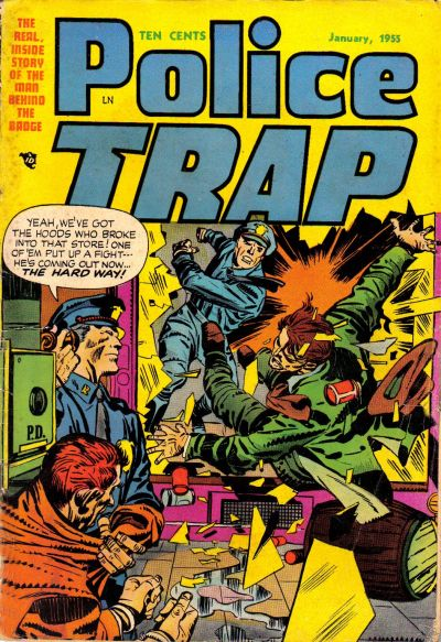 Cover for Police Trap (Mainline, 1954 series) #3