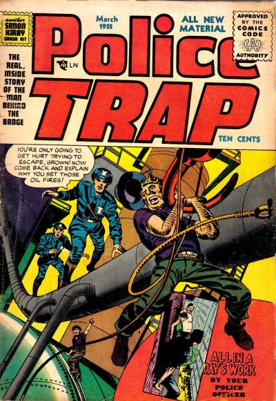 Cover for Police Trap (Mainline, 1954 series) #4