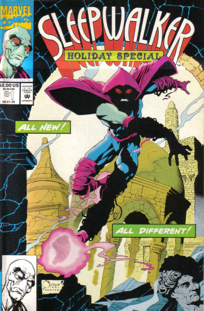 Cover for Sleepwalker Holiday Special (Marvel, 1993 series) #1