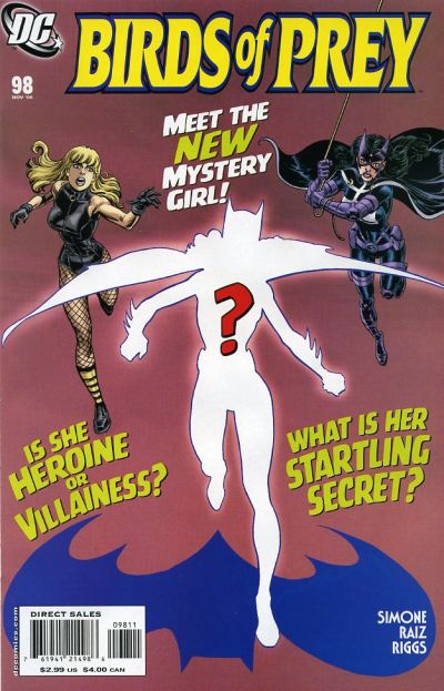 Cover for Birds of Prey (DC, 1999 series) #98