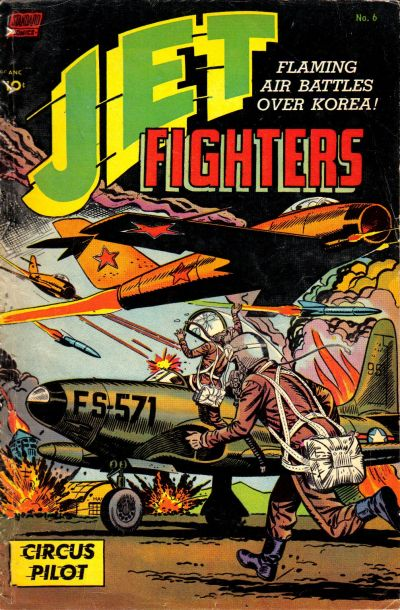 Cover for Jet Fighters (Pines, 1952 series) #6