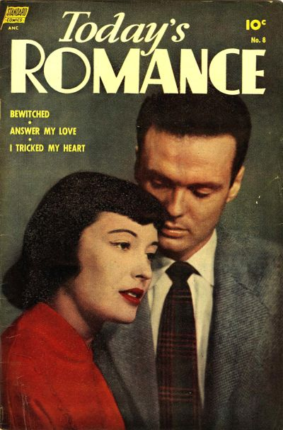 Cover for Today's Romance (Pines, 1952 series) #8