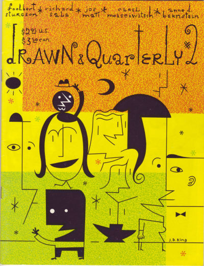 Cover for Drawn & Quarterly (Drawn & Quarterly, 1990 series) #2