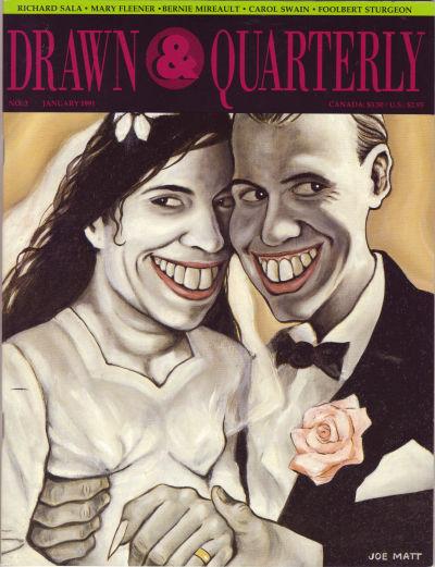 Cover for Drawn & Quarterly (Drawn & Quarterly, 1990 series) #3