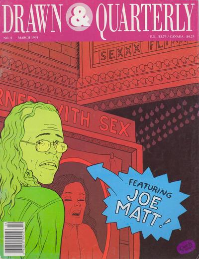 Cover for Drawn & Quarterly (Drawn & Quarterly, 1990 series) #4