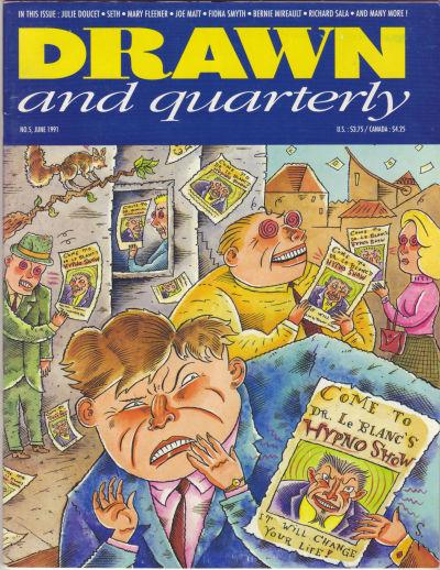 Cover for Drawn & Quarterly (Drawn & Quarterly, 1990 series) #5